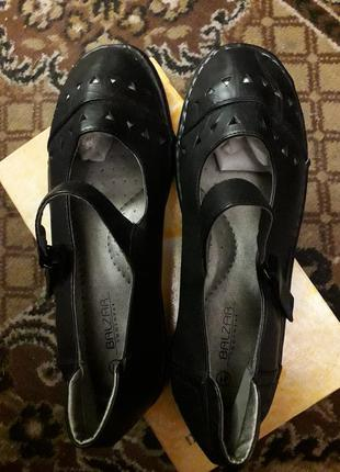 Туфли новые с ортопедической стелькой, торг.