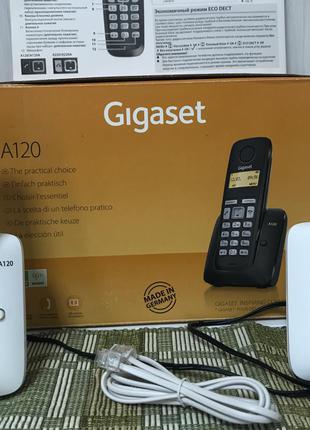 Радиотелефоны Gigaset A120- 2шт