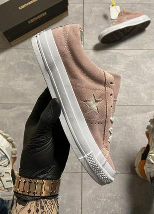 👆converse one star premium suede👆кеды конверс