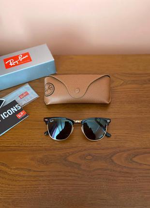Оригинальные очки ray ban clubmaster rb 3716 оригинал италия н...