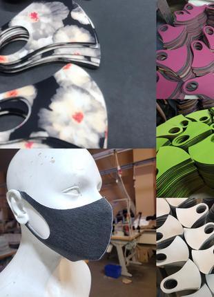 ГОТОВЫЙ КРОЙ для пошива масок Питта (Pitta mask)
