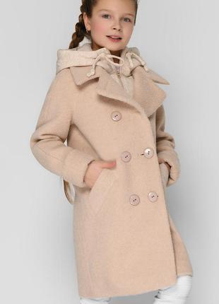 Модное демисезонное пальто для девочки в разных расцветках