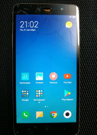 Смартфон Xiaomi redmi note 3 pro 2/16