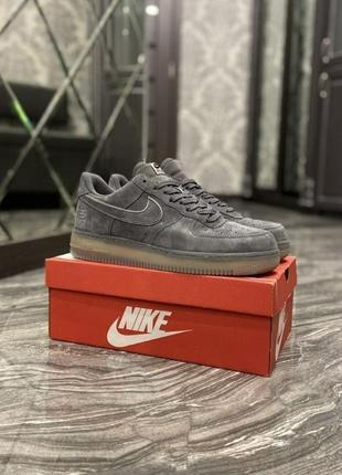 Кроссовки nike air force low luxury suede
