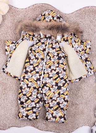 Детский зимний комбинезон курточка