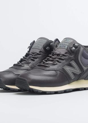 Оригинал new balance! ботинки кожаные мужские зимние демисезон...