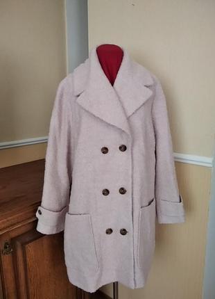 Осенне-весеннее пальто большого размера
