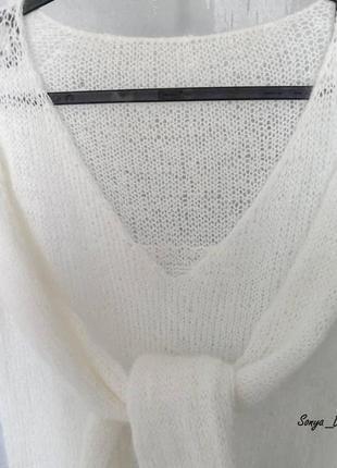 Очень нежный свитер из шикарной пряжи