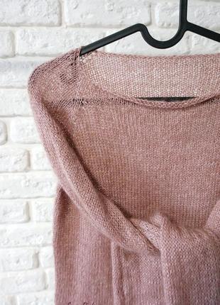 Базовый свитер из элитной итальянской пряжи