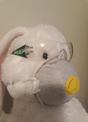 Защитный набор очки маска респиратор uvex deltaplus ffp2