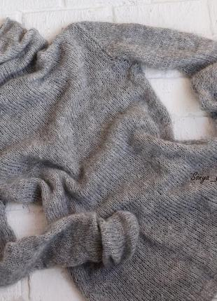 Шикарный свитер-водолазка из итальянской пряжи