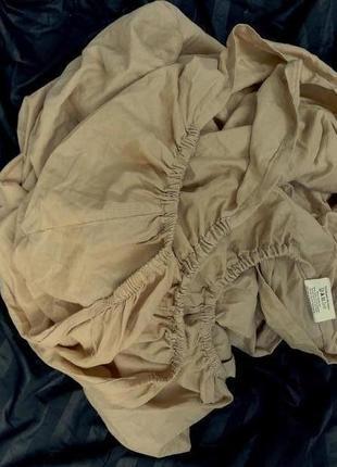 Простынь-наматрасник на резинке, coloroll, 135х190х23