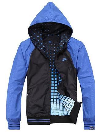 Уценка ! двусторонняя мужская куртка nike