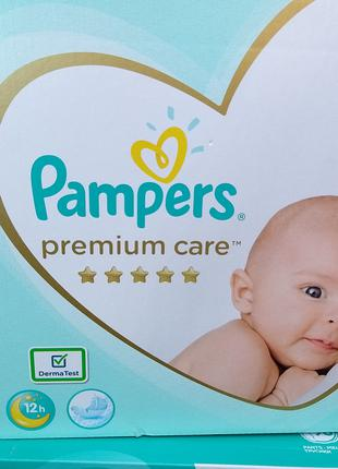 Подгузники Pampers premium care 2/148