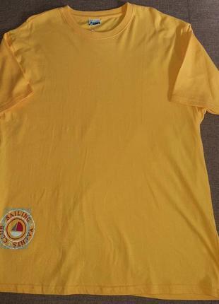 Яркая и комфортная мужская футболка от active, германия, р-р x...