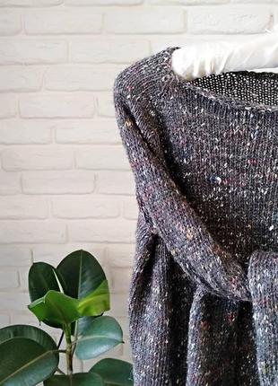 Шикарный свитер из пряжи мировых брендов