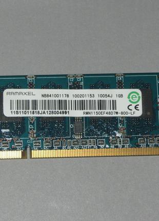 Ramaxel 1Gb PC2 DDR2 800Mhz оперативная память RMN1150EF48D7W-800