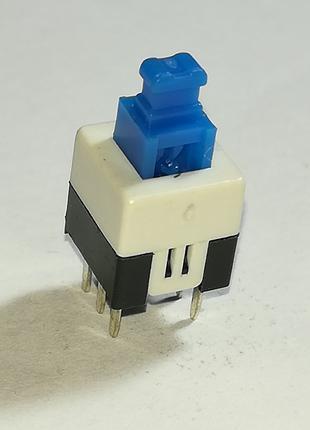 Кнопка 7x7 мм микро выключатель с фиксацией