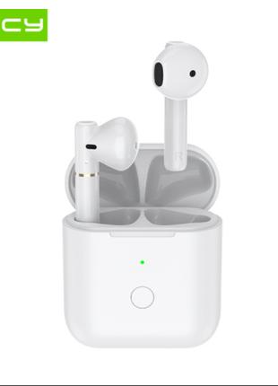 Беспроводные Наушники QCY T8 White TWS Безпровідні Навушники