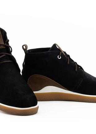 Мужские ботинки замшевые весна/осень синие