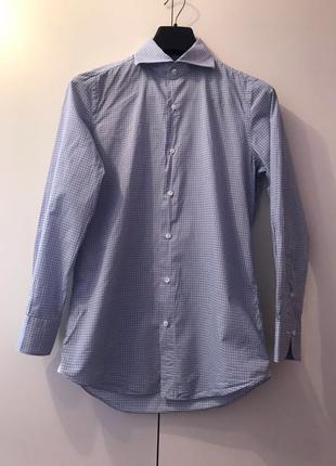 Finamore 1925 Napoli рубашка мужская ручной работы