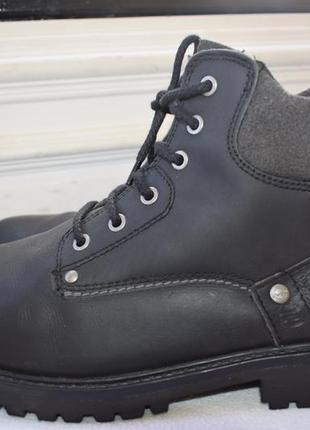 Шикарные кожаные ботинки демисезонные еврозима wrangler р.9/43...