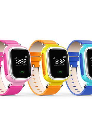 Детские умные GPS часы Smart Baby Watch Q100 с трекером