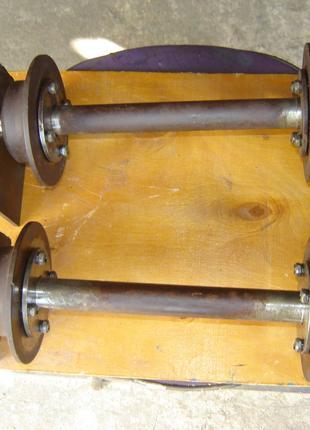 2 шт. опорных моста для технической тележки