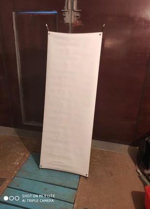 Мобильный стенд X-баннер офисный напольный Econom 60x160
