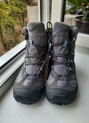 Женские ботинки Salomon термо -18