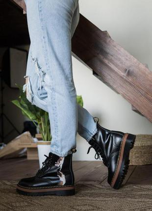 Dr. martens jadon michelangelo 👢 ботинки с рисунком/принтом
