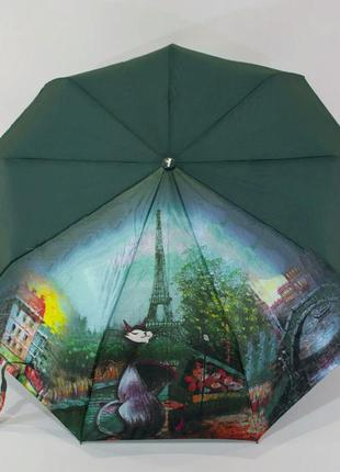 Шикарный зонт-полуавтомат антиветер