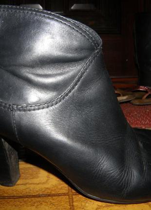 Кожаные сапоги geox ,39-40 р