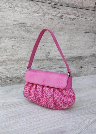 Donna karan кожаная сумка кросс боди 100% оригинал dkny guess ...