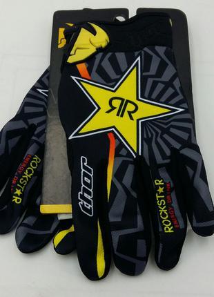 АКЦИЯ с 23.11-30.11!!! Мотоперчатки Thor Rockstar кроссовые