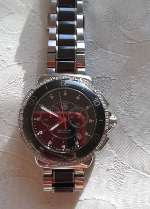 Женские часы TAG Heuer Formula 1 Chronograph 41 mm