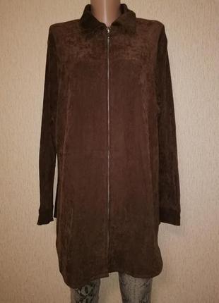 Женская легкая демисезонная куртка, ветровка батального размер...