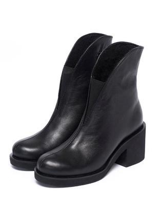 Ботильоны женские на среднем каблуке 953-00
