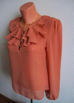 Sale -50%! блуза с воланами atmosphere