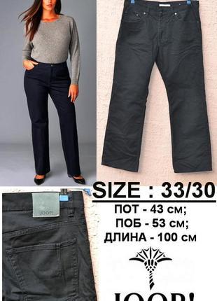 Классические черные  джинсы 👖  прямого покроя    от бренда  joop!