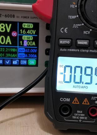 Токовые клещи-мультиметр-тестер ANENG ST209, True RMS, постоянный