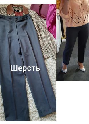 Актуальные стильные укороченные шерстяные брюки, hobo, p. 38