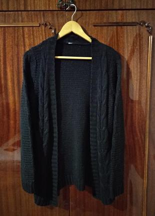 Теплая вязаная кофта gina tricot