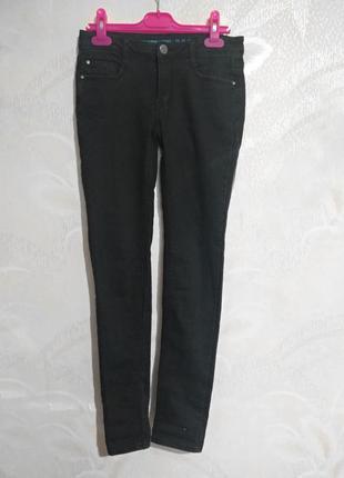 Мягкие облегающие штаны denim co