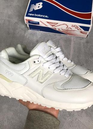 🌹распродажа🌹женские белые кроссовочки new balance 999
