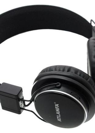 Наушники беcпроводные Atlanfa Monster AT - 7611 с Bluetooth, MP3