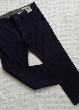 Мужские повседневные  брюки чинос с ремнем marks&spencer разме...