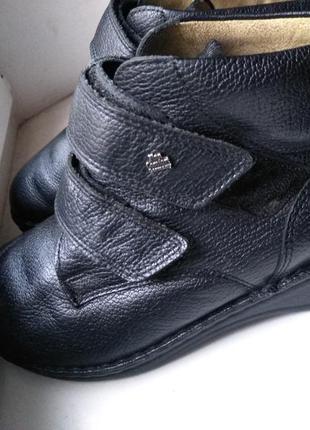 Ортопедические ботинки  finn comfort кожа 23 см стелька 36 р.