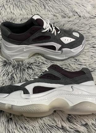 Кроссовки кеды в стиле balenciaga ugly shoes натуральная кожа ...