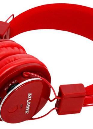 Наушники беcпроводные Atlanfa AT - 7611 с Bluetooth, MP3